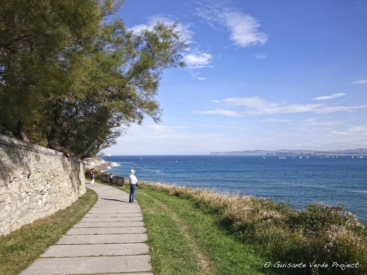 Inicio Ruta al Faro de Cabo Mayor - Santander por El Guisante Verde Project