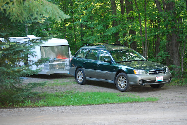 Tiny Trailer Camping, Lake Itasca, Savanna Portage State Park, Mississippi River