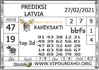 Prediksi Togel LATVIA DUNIA4D 27 FEBRUARI 2021