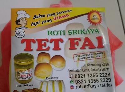 Roti Srikaya TET FAI, Enak, Murah Wajib Kamu Coba