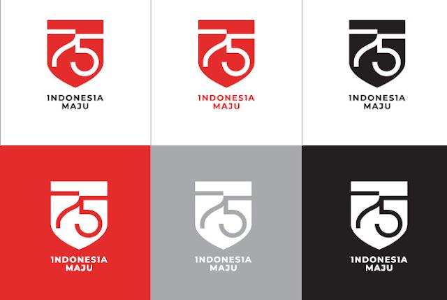 variasi logo hut ri ke 75 tahun 2020