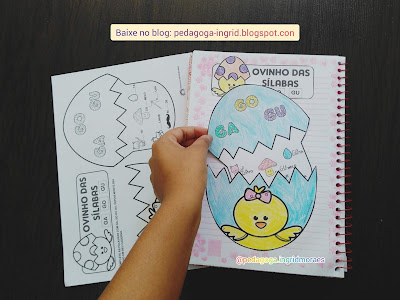 atividades para alfabetização