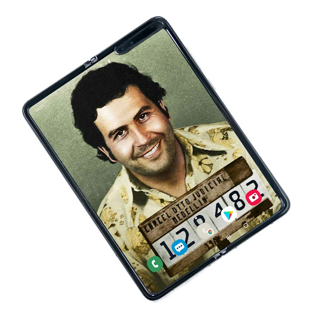 Pablo Escobar's Brother Releases a New $399 Foldable Smartphone