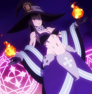 Fire Force Anime Girl Maki