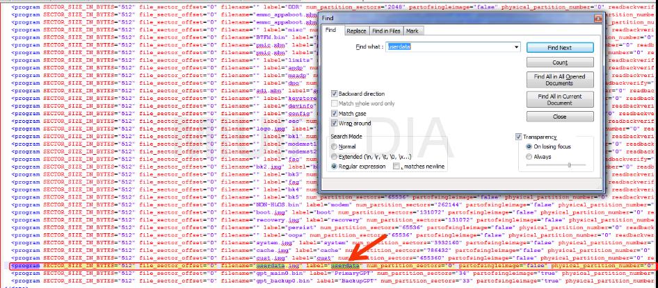 script yang harus dihapus untuk menyelamatkan data internal