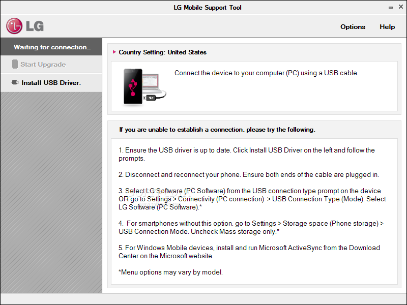 Download LG USB Driver 12222 for Windows and Mac
