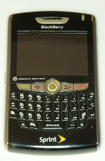 Blackberry 8830 Review