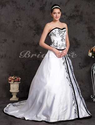 Vestido de noiva cetim