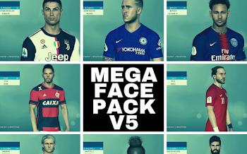 Mega FacePack   V5   PES2017   PC