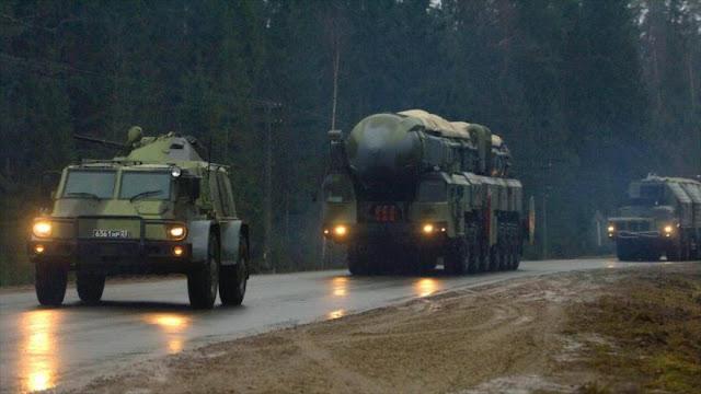 Rusia respondería con bombas nucleares a posible agresión de EEUU