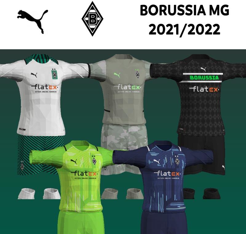 NEW Borussia MG 2021-2022 Kits For PES 2013