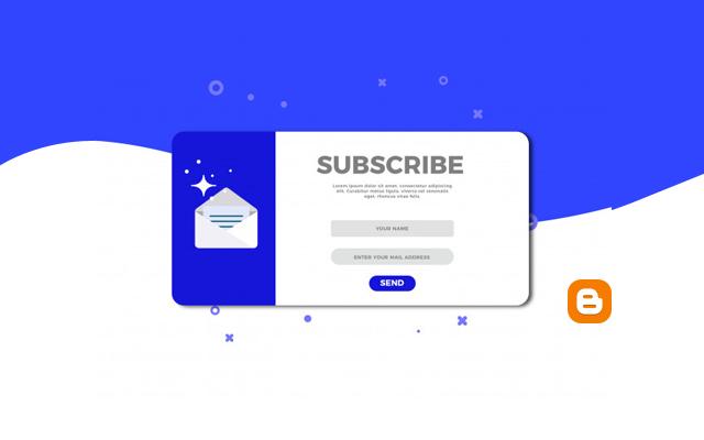 Belajar Membuat Widget Email Langganan Blogger dengan Mudah