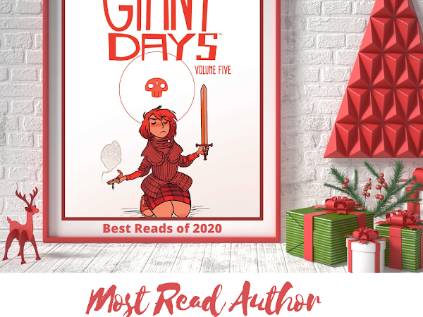 #Blogmas - Best Reads of 2020 - Most Read Author