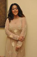 Mumaith Khan in Beig Skin Colored Anarkali Dress at Kalamandir Foundation 7th anniversary Celebrations ~  Actress Galleries 025.JPG
