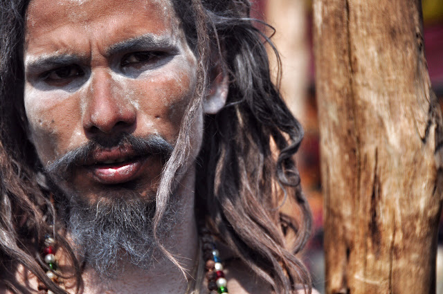 naga baba Kumbh mela 2013 ganga allahabad naked man male indian