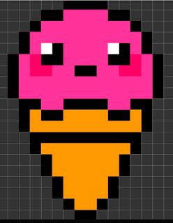 Pixel Art Drawings I Made