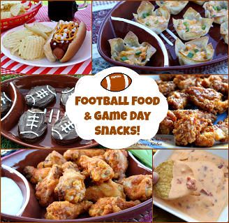 Football Food & Game Day Snacks