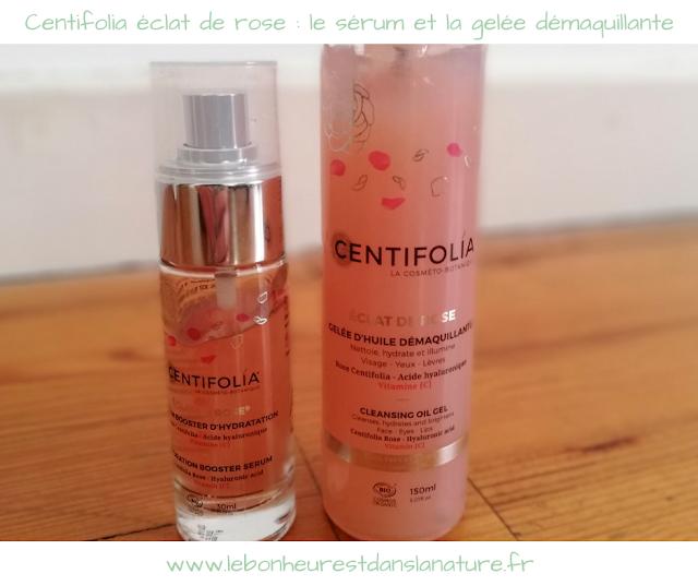Centifolia éclat de rose : le sérum et la gelée démaquillante + CONCOURS