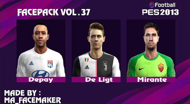 Facepack Vol.37 2020 PES 2013