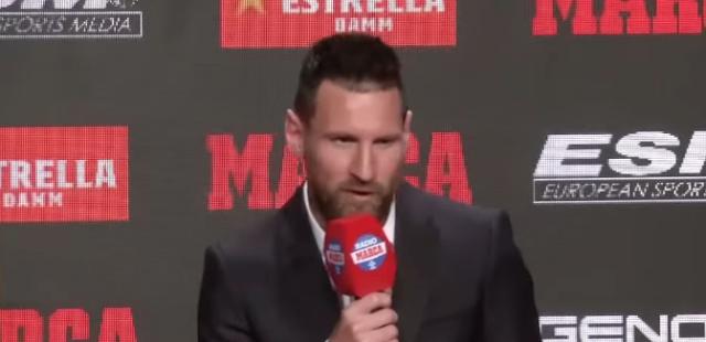 ميسى يسجل الهدف رقم 50 له مع برشلونة ومنتخب الأرجنتين هذا العام