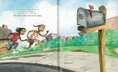 historical fiction picture book Quickest Kid in Clarksville
