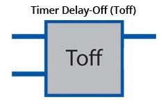timer delay off TOFF
