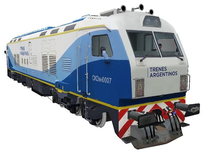CNR DALIAN CKD8H0007 - Trenes Argentinos