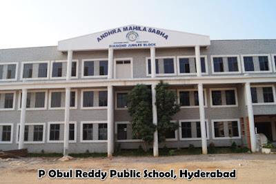 P Obul Reddy Public School, Hyderabad