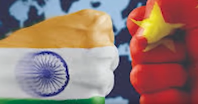 India china face-off at 5 different locations