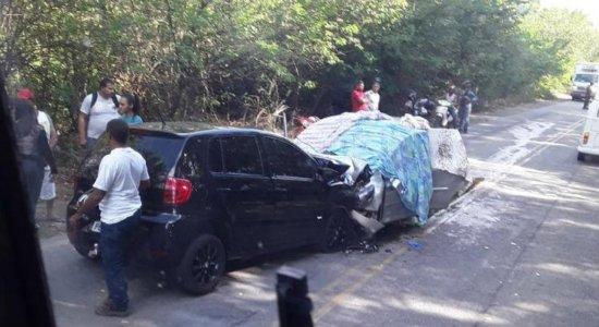 [URGENTE] Acidente PE-60 em Rio Formoso Pernambuco