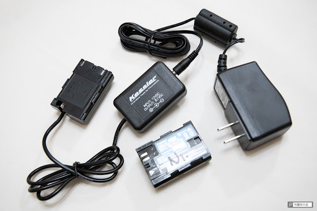 解決 Canon 相機長時間拍攝的供電問題 - Kessler 假電池及變壓器