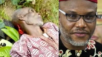 Nnamdi Kanu Reacts As Fulani Herdsmen Hack Old Man To Death In Oguta (Video)