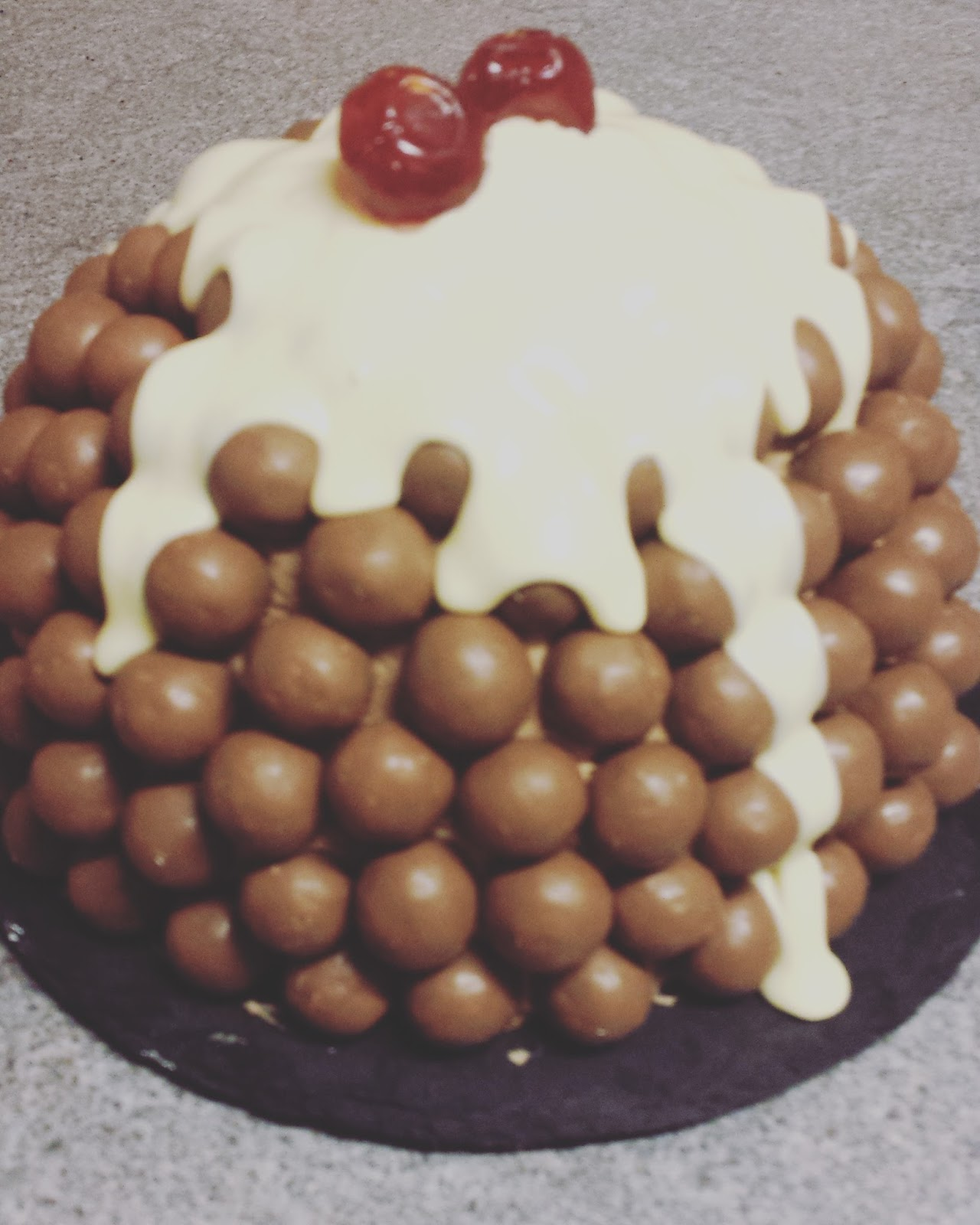 How To Make Malteser Cake