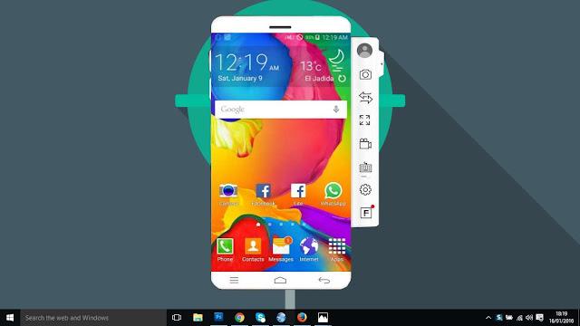 اظهار شاشة هاتفك الأندرويد على حاسوبك بدون انترنت ولا روت و بواجهة أنيقة