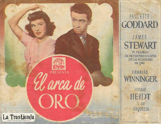 El Arca de Oro - Programa de Cine - Paulette Goddard - James Stewart
