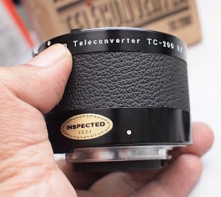 Nikon TeleConverter TC200 2X Bekas
