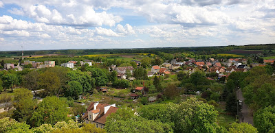 Frombork widok z wieży Radziejowskiego