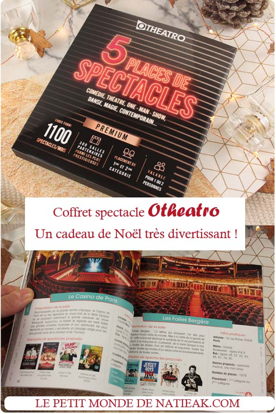 Coffret Culture'in The City spectacle premium
