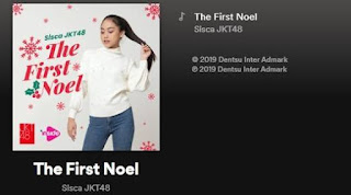 sisca jkt48 the first noel mv spotify.jpg