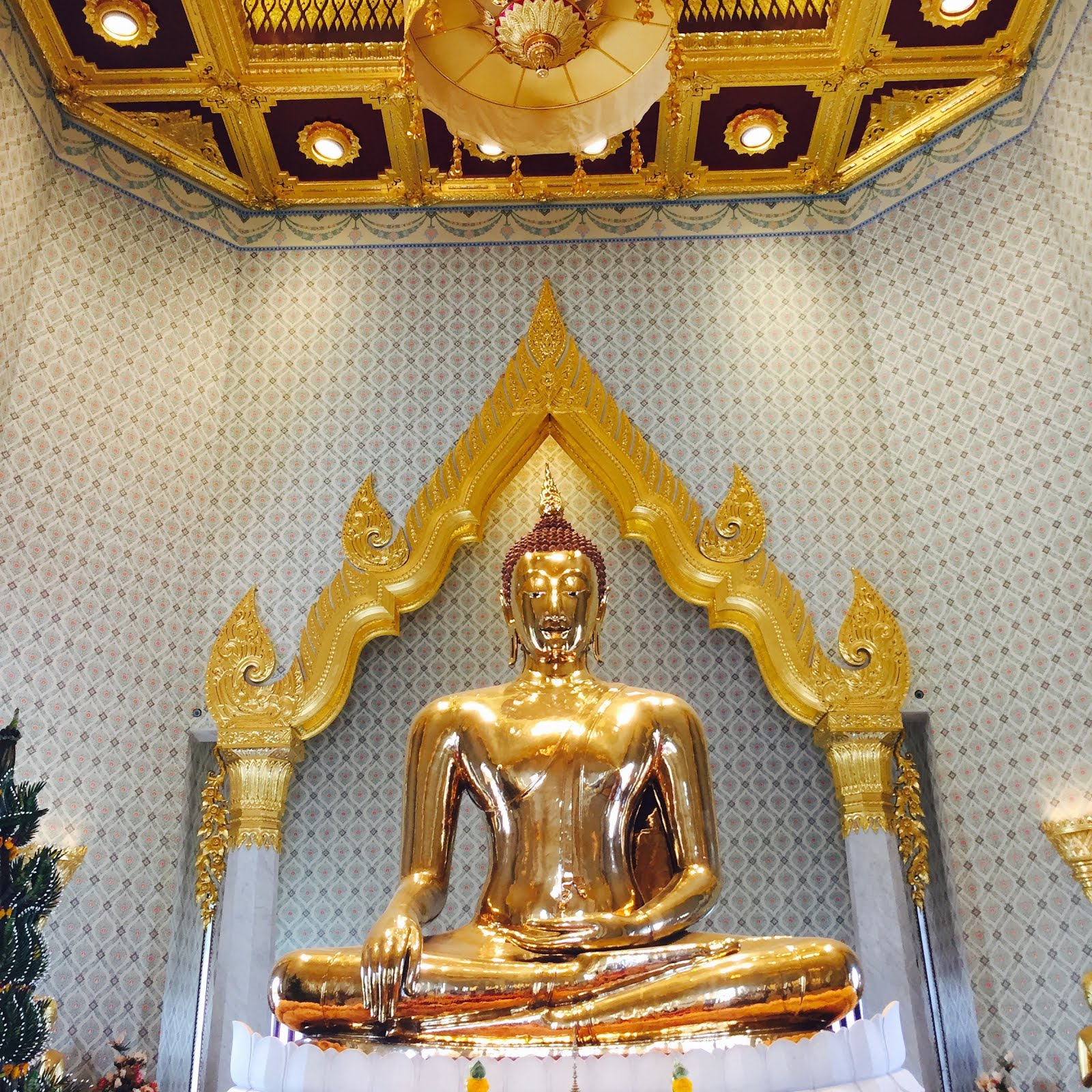 Golden Budda in South East Asia