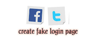 How To Create A Facebook Fake Login Page-Fake Login Script