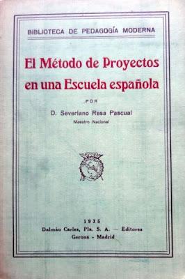 Trabajo por Proyectos, docentes de los años treinta, Enseñanza UGT, Blog de Enseñanza UGT