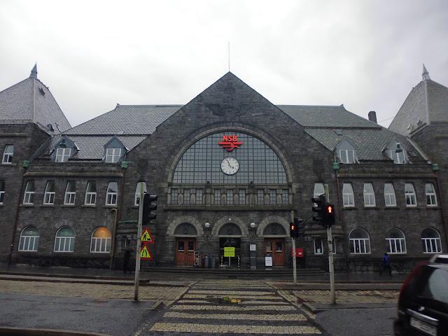 Bergen Stasjon. Estación de Trenes de Bergen