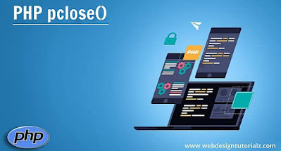 PHP pclose() Function