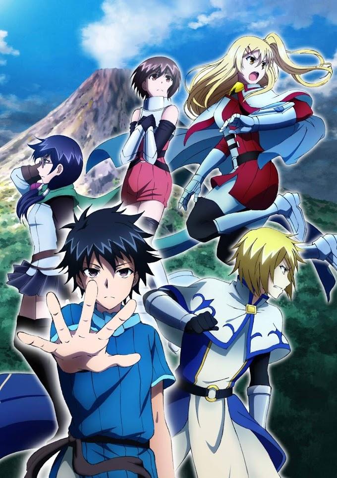 Nova imagem promocional do anime 100-man no Inochi no Ue ni Ore wa Tatte Iru
