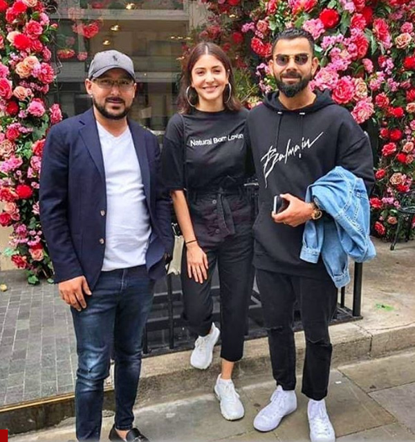 Virat Kohli and Anushka Sharma twin in black outfits as they step out in London. See pic, London, News, Sports, Cricket, Cinema, Entertainment, Photo, World