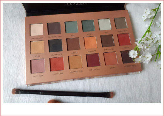 focallure eyeshadow 18 warna