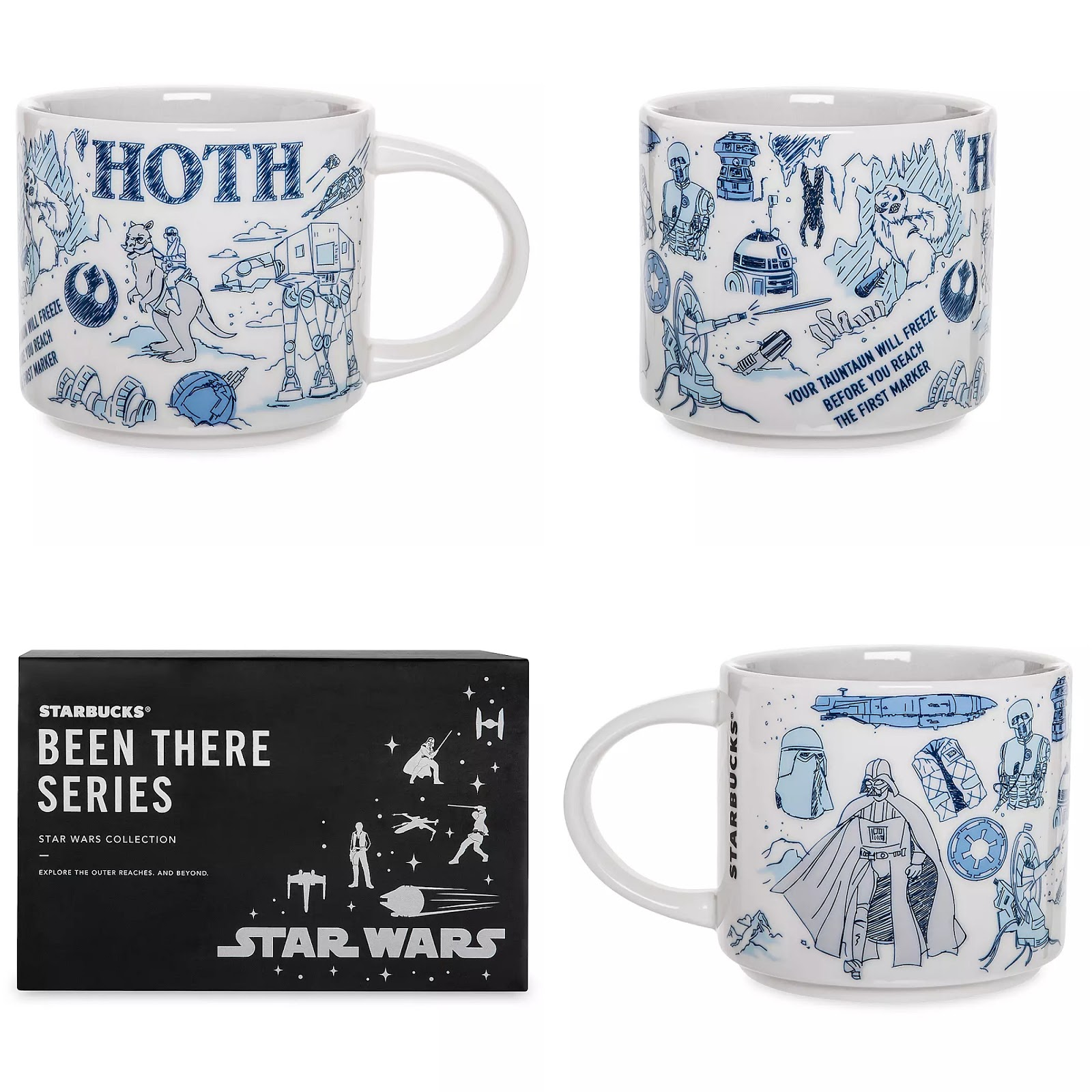 Droids Official Drinking Mug Star Wars Disney Microwave Safe. New And Boxed