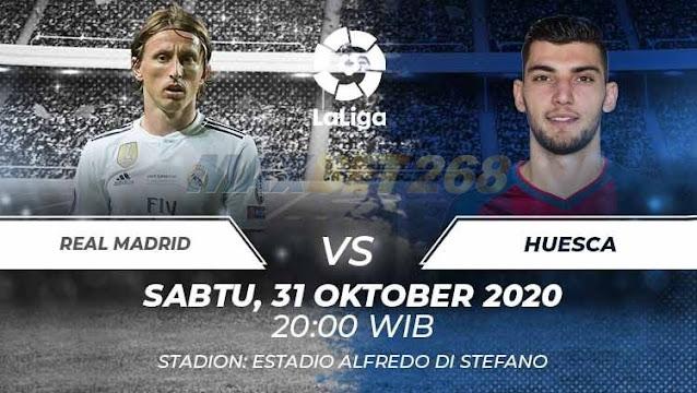 Prediksi Real Madrid Vs SD Huesca, Sabtu 31 Oktober 2020 Pukul 20.00 WIB