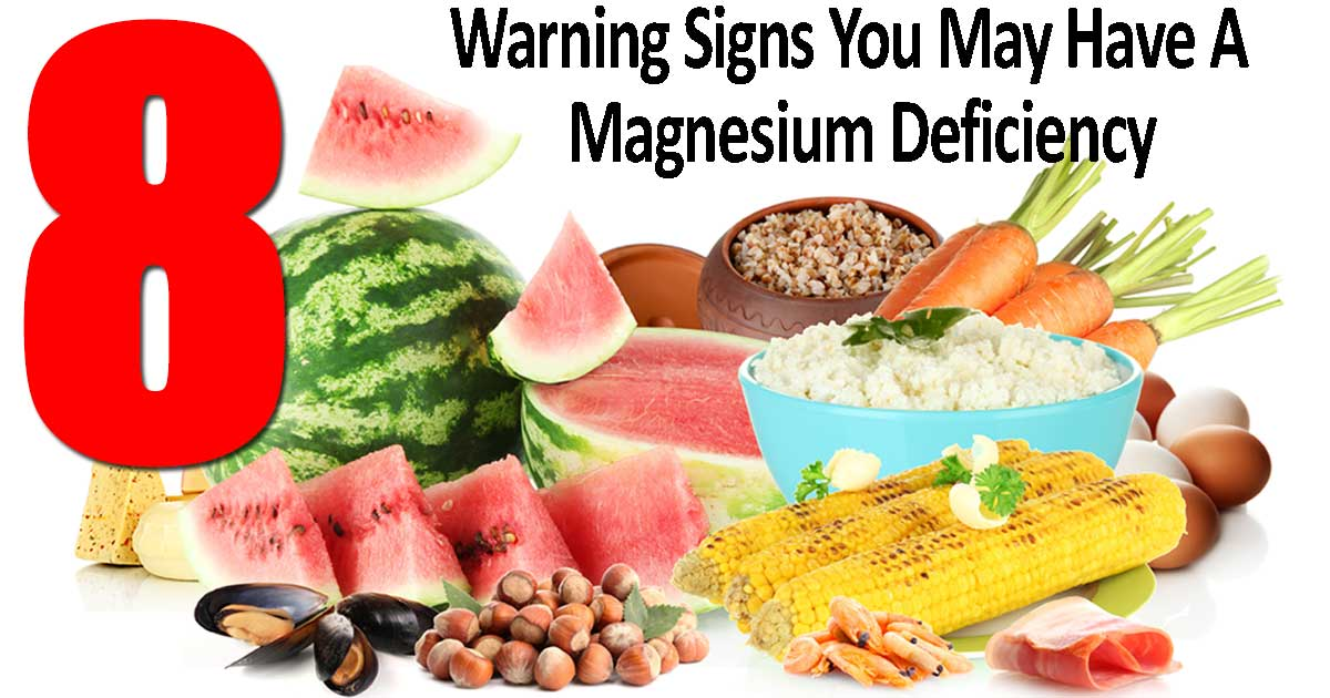 Early Warning Signs For Magnesium Deficiency